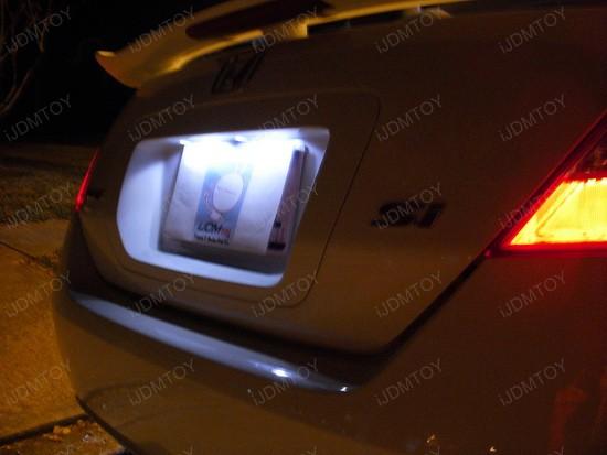 Honda - Civic - LED - license - plate - lights - 2